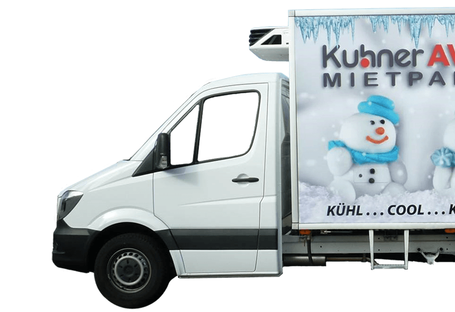 Sonderfahrzeug Vermietung bei Kuhner