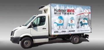 Kühltransporter und andere Spezialfahrzeuge mieten